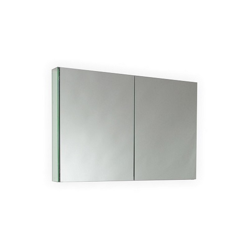 40 wide mirrored bathroom medicine cabinet