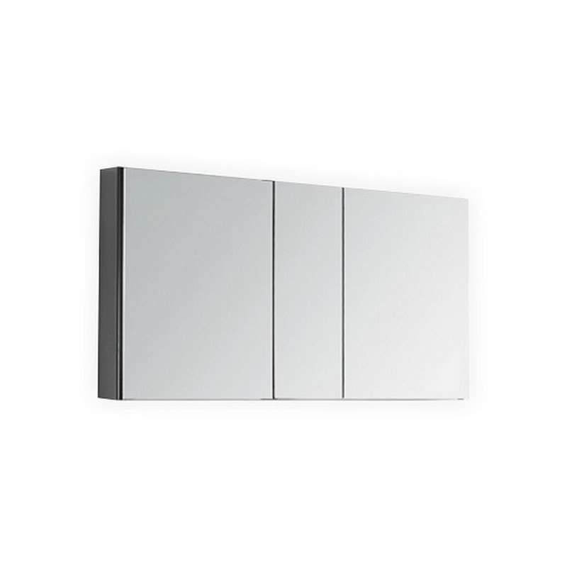 50 Wide Mirrored Bathroom Medicine Cabinet