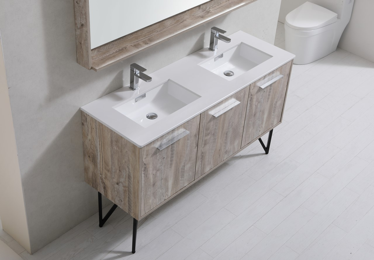 Etonnant Bosco 60u2033 Modern Bathroom Vanity W/ Quartz Countertop Bosco, Vanities,  Double Sink Vanities