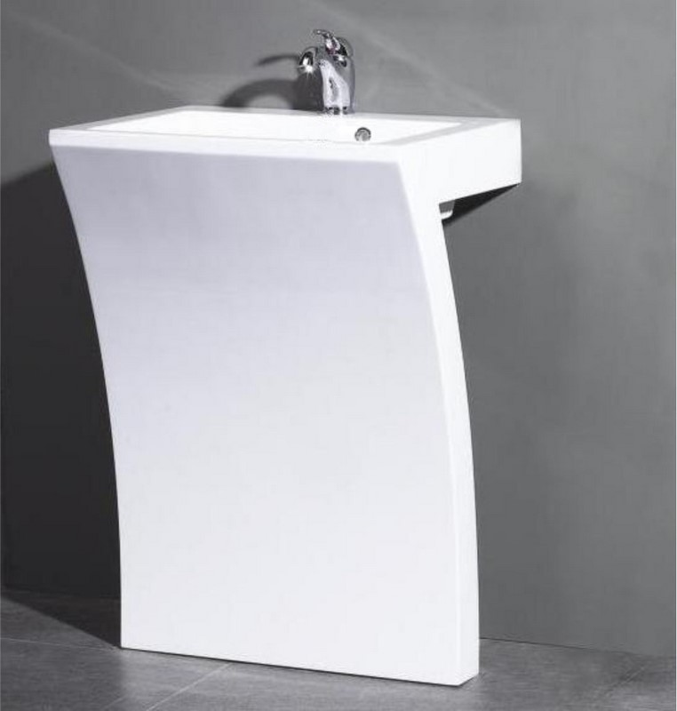 Vanity For Pedestal Sink : Be the first to review ?Sette Acrylic Pedestal Sink? Cancel reply