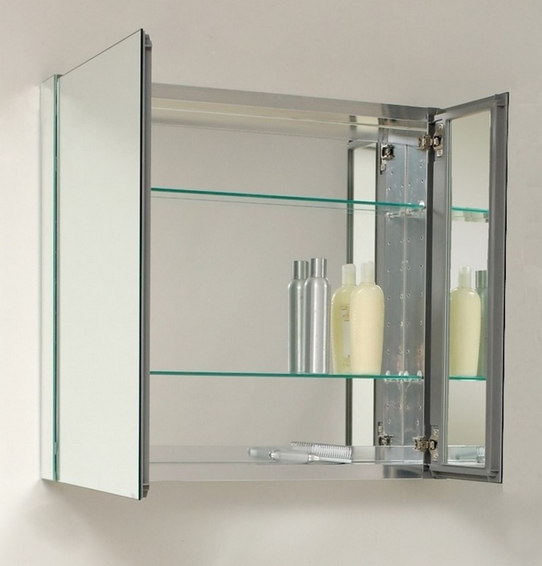 mirrored bathroom cabinets 30 quot wide mirrored bathroom medicine cabinet 23387